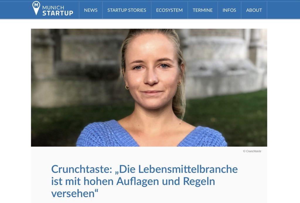 Interview Munich Startup