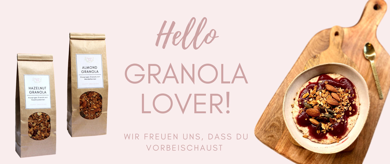 Crunchtaste Granola Startseite