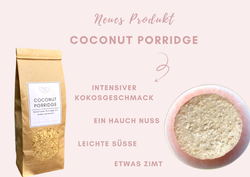 Coconut Porridge Crunchtaste