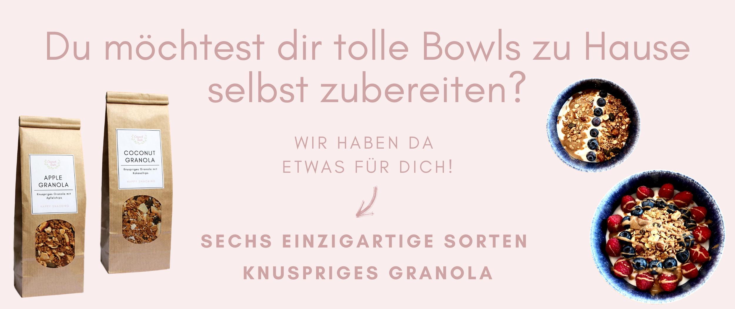 Crunchtaste Granola Bowl