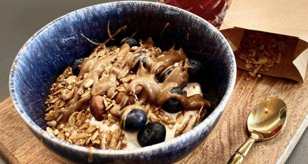 Crunchtaste Granola Frühstück